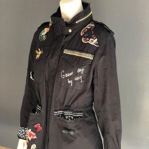 Desigual military jacket Medium